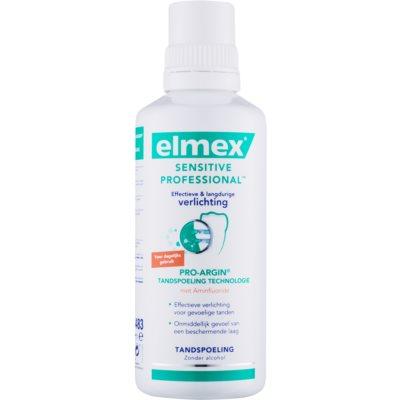 Elmex Sensitive Professional Pro-Argin Mundwasser für empfindliche Zähne