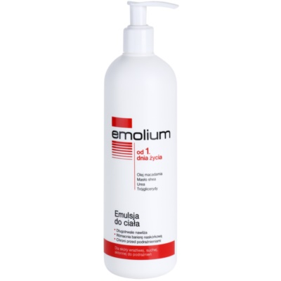 Emolium Body Care Body Emulsion For Dry and Sensitive Skin