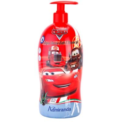 EP Line Cars 2 pěna do koupele a sprchový gel 2 v 1 pro děti