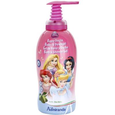 sprchový a koupelový gel