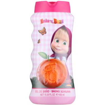EP Line Masha and The Bear Body Wash and Sponge