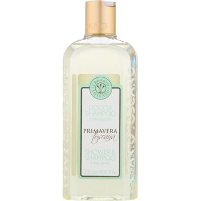 extra jemný sprchový gel a šampon 2 v 1