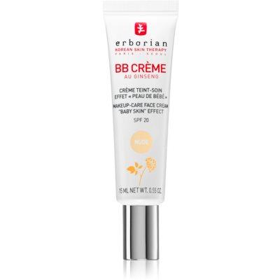 Erborian BB Cream тонирующий крем для безупречного вида кожи SPF 20 маленькая упаковка