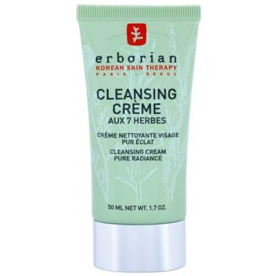 Reinigungscreme zur Verjüngung der Gesichtshaut