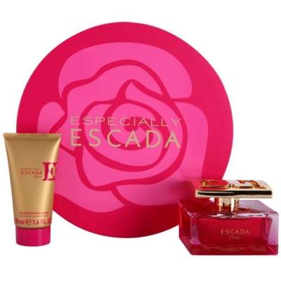 Escada Especially Elixir set cadou IV.  Eau de Parfum 75 ml + Lotiune de corp 50 ml