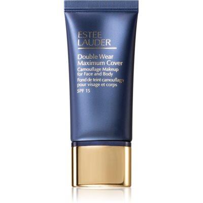 Estée Lauder Double Wear Maximum Cover fond de teint couvrant visage et corps