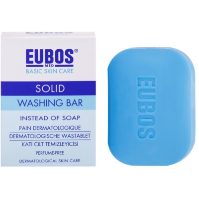 Eubos Basic Skin Care Blue Syndet Bar Fragrance-Free