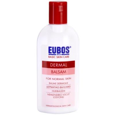 bálsamo hidratante de corpo para a pele normal