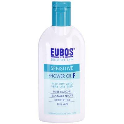 sprchový olej pro suchou až velmi suchou pokožku