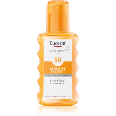 Eucerin Sun Sensitive Protect Protective Sunscreen Spray SPF 50