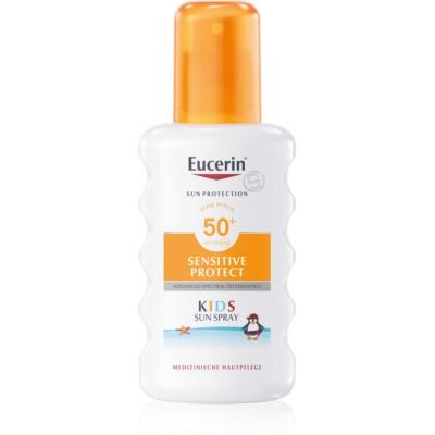 Eucerin Sun Kids zaščitno pršilo za otroke SPF50+