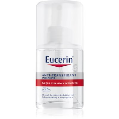 Eucerin Deo spray anti-transpirant anti-transpiration excessive