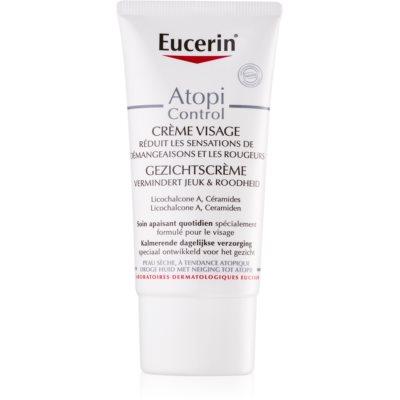 Eucerin Dry Skin Dry Skin Omega Gezichtscrème  voor Droge tot Atopie Huid