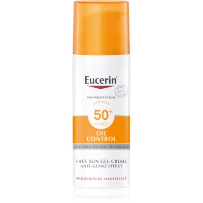 Eucerin Sun Oil Control Protective Cream - Gel Face SPF50+