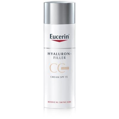 crema CC contra arrugas marcadas SPF 15