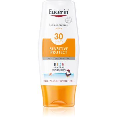 beschermende zonnebrandmelk voor kinderen SPF 30