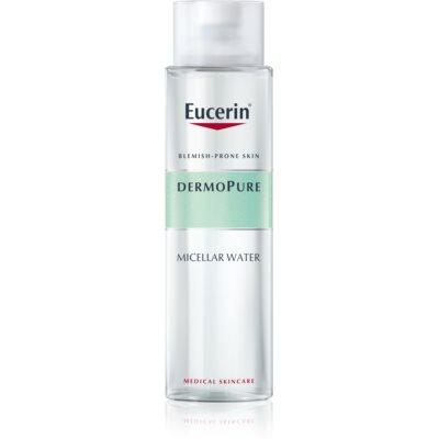 Eucerin DermoPure apa pentru curatare cu particule micele pentru pielea problematica