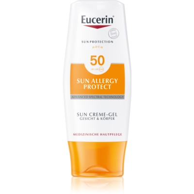 Eucerin Sun Allergy Protect Gel Cream Sunscreen for Sun Allergies SPF 50