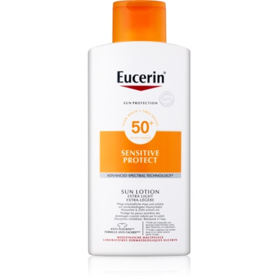 Eucerin Sun Sensitive Protect Extra Light Body Sunscreen SPF 50+
