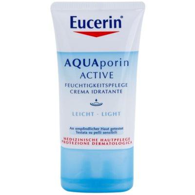 crema hidratante ligera  para pieles normales y mixtas