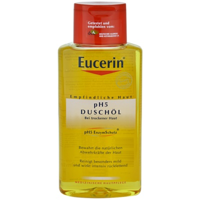 sprchový olej pro citlivou pokožku