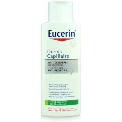 Eucerin DermoCapillaire Shampoo To Treat Oily Dandruff