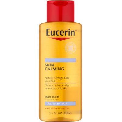 óleo de duche para pele seca e com purido