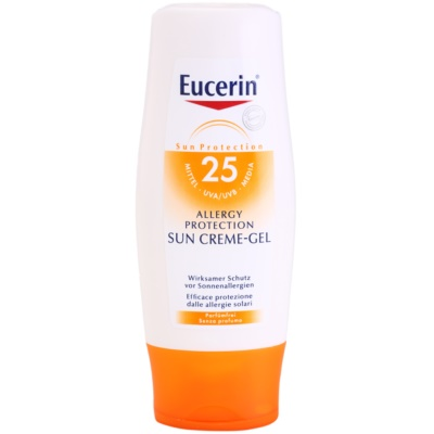 Eucerin Sun Gel Cream Sunscreen for Sun Allergies SPF 25