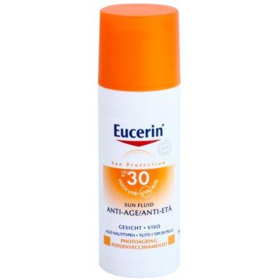 Eucerin Sun Beschermende Anti-Rimpel Fluid  SPF 30