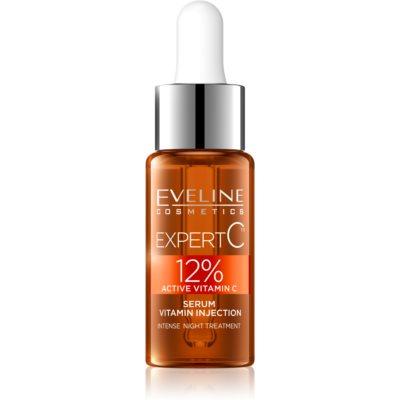 Eveline Cosmetics Expert C sérum de noite com vitaminas ativas