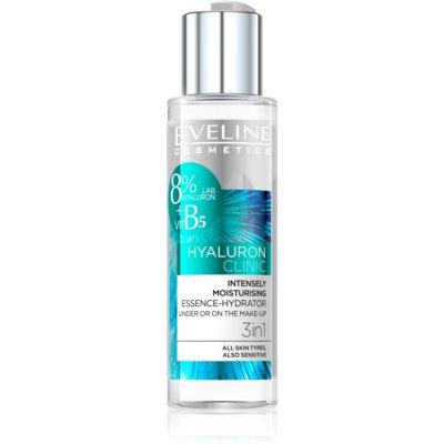 Eveline Cosmetics Hyaluron Clinic інтенсивно зволожувальна сироватка 3в1