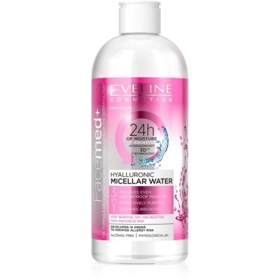 Micellar Water with Hyaluronic Acid 3 In 1