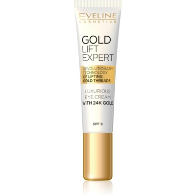 Luxurious Eye Cream With 24 Carat Gold