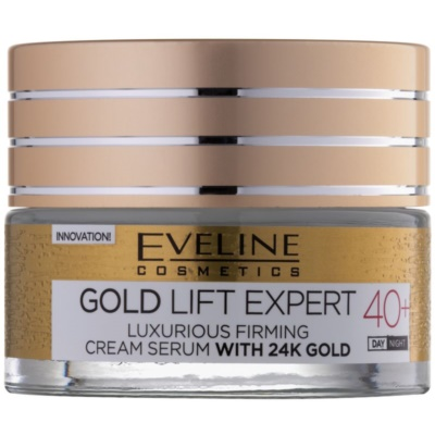 Luxurious Firming Cream With 24 Carat Gold