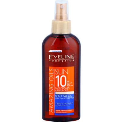 Zonnebrandolie Spray SPF 10
