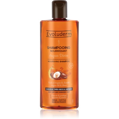Nourishing Shampoo with Moroccan Argan Oil for Dry and Damaged Hair