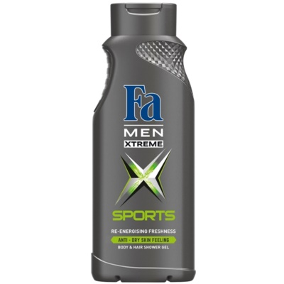 Fa Men Xtreme Sports gel za prhanje za telo in lase