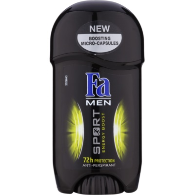 Fa Men Sport Energy Boost Tough Antiperspitant