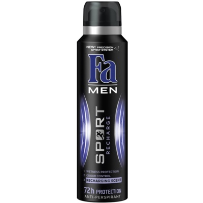 Fa Men Sport Recharge Antiperspirant In Spray