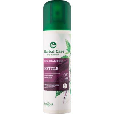 shampoo secco per capelli grassi