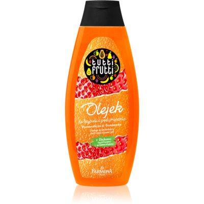 Gel-Öl für Bad und Dusche