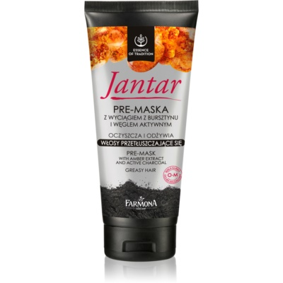Hair Mask with Active Charcoal For Oily Hair