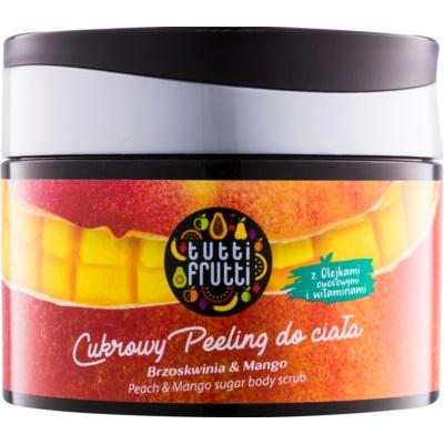 Farmona Tutti Frutti Peach & Mango peeling corporal de açúcar