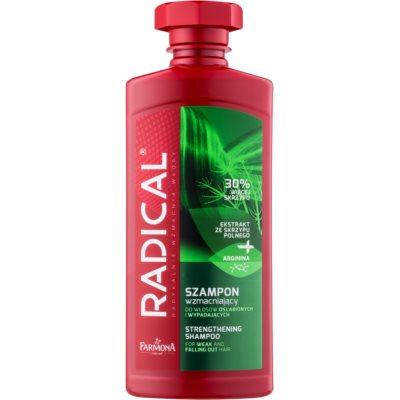 krepilni šampon za oslabljene lase, ki so nagnjeni k izpadanju