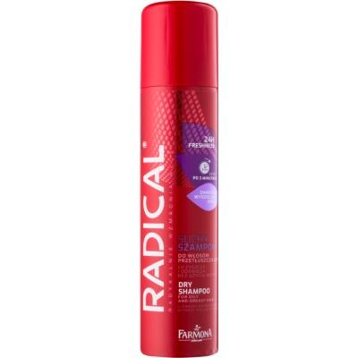 suchý šampon pro mastné vlasy