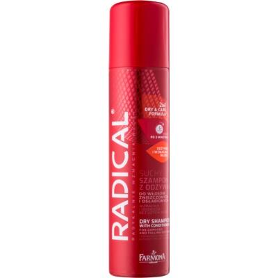 suhi šampon in balzam v enem za poškodovane in izpadajoče lase