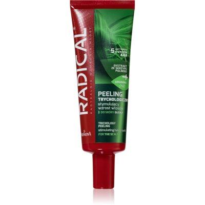 vlasový peeling proti padání vlasů