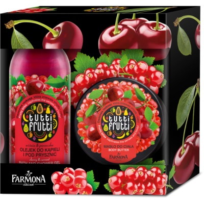 Farmona Tutti Frutti Cherry & Currant Cosmetic Set V.