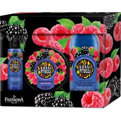 Farmona Tutti Frutti Blackberry & Raspberry kozmetická sada III.