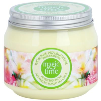 sametové tělové máslo pro výživu a hydrataci